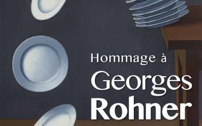 Hommage à Georges Rohner – Palais de l'institut de France à Paris