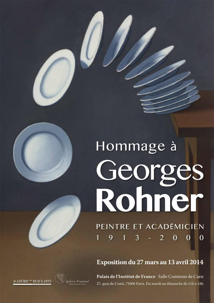 Hommage à Georges Rohner