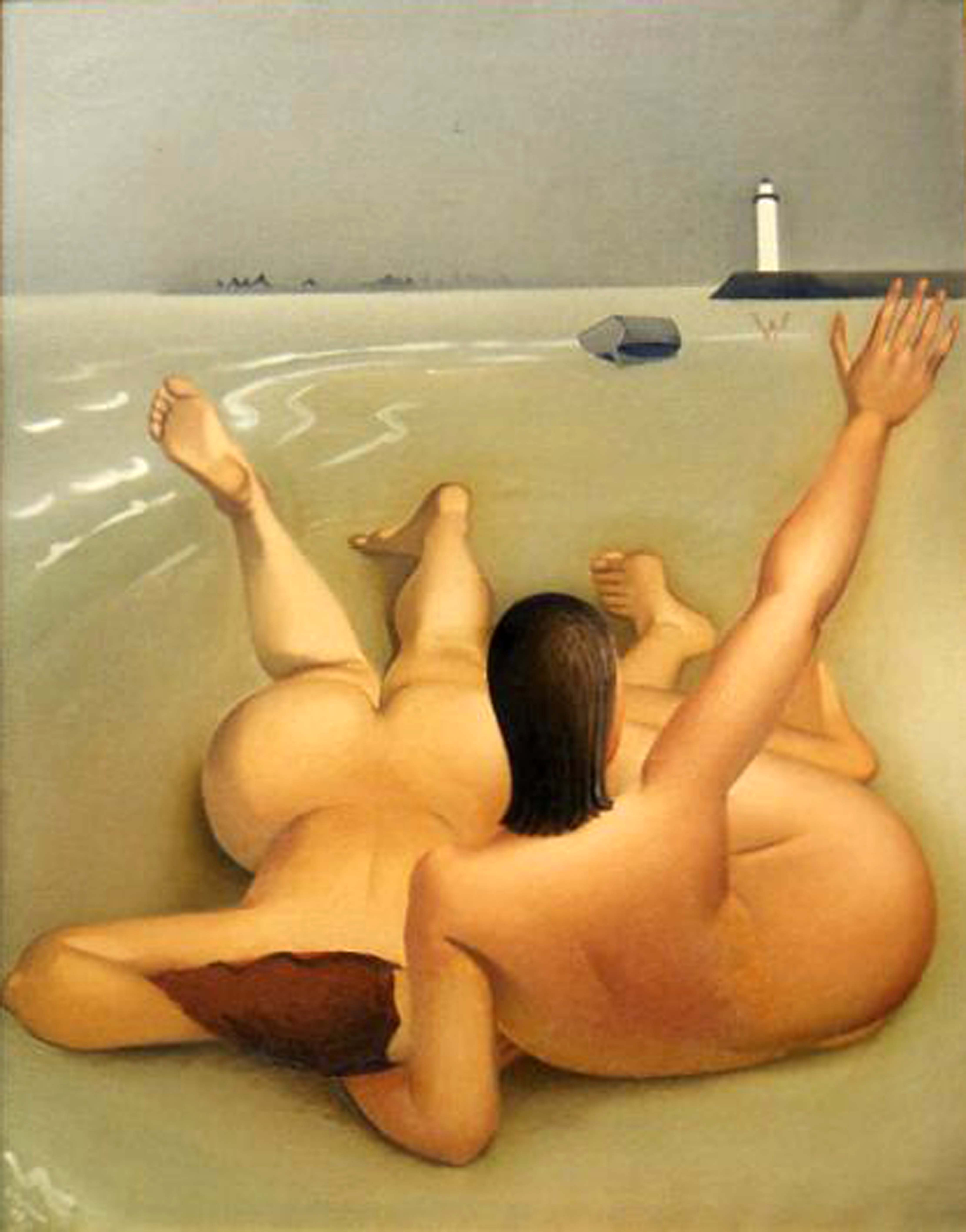 Deux baigneuses