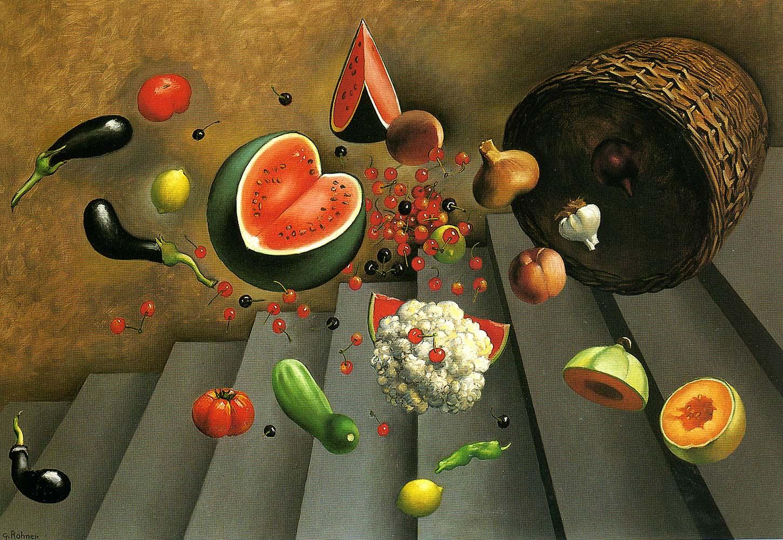 Chute du panier de légumes