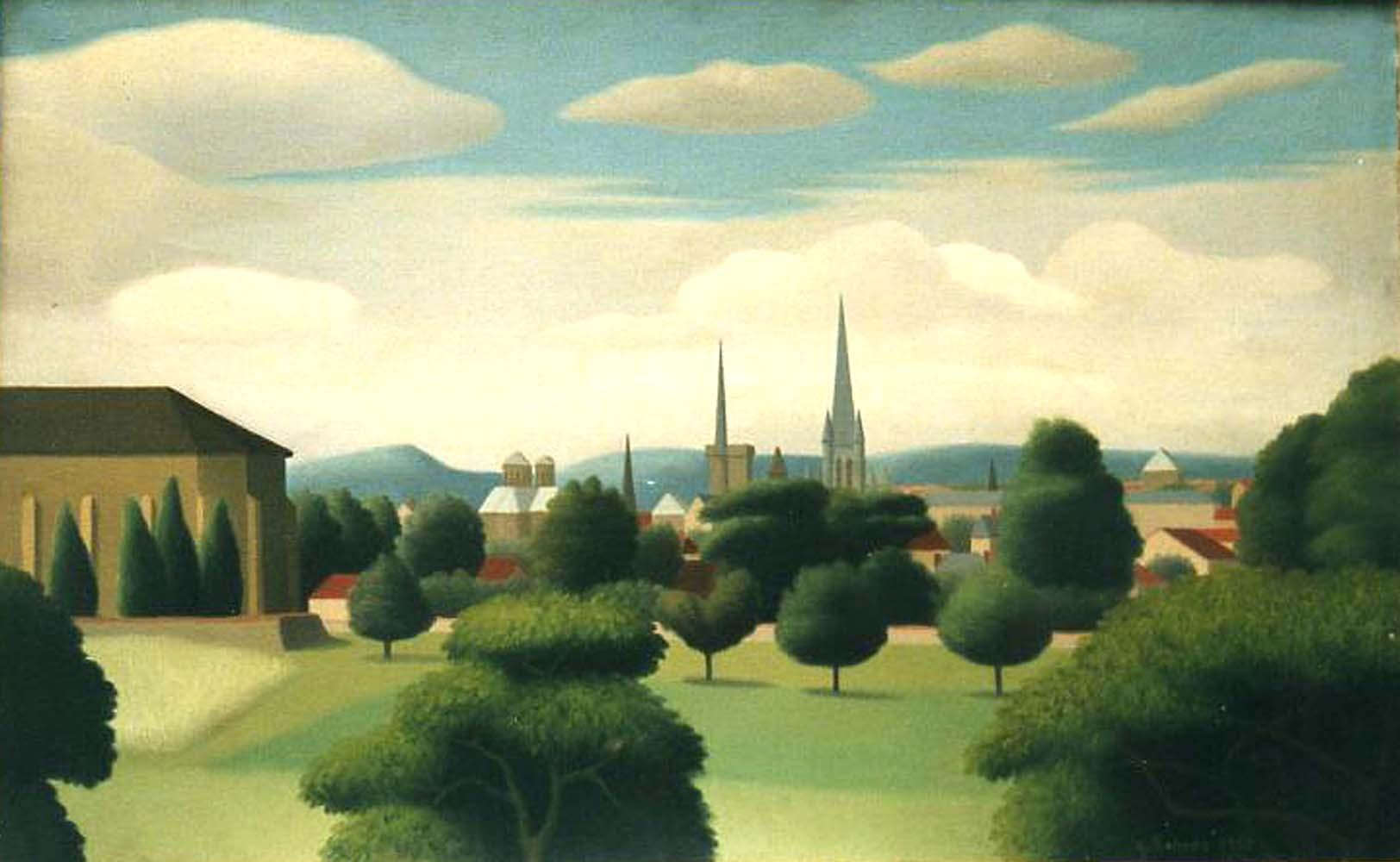 Paysage de Dijon