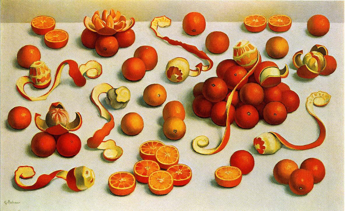 Bataille  d'oranges